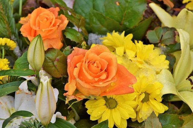 kytice žlutá