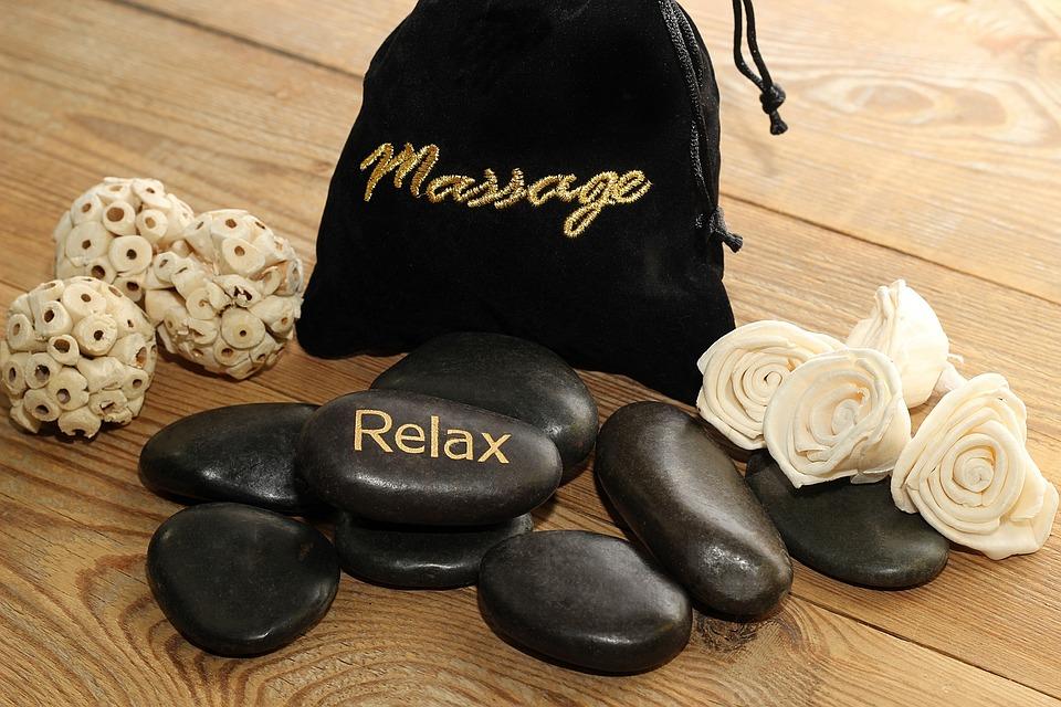 kameny k masáži